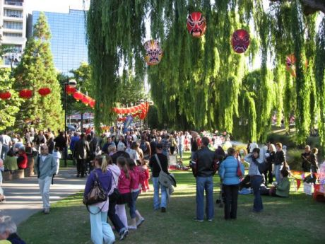 Image of Christchurch Lantern Festival, New Zealand, 2009-02-14