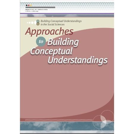 Cover Approaches to Building Conceptual Understandings in the Social Sciences.
