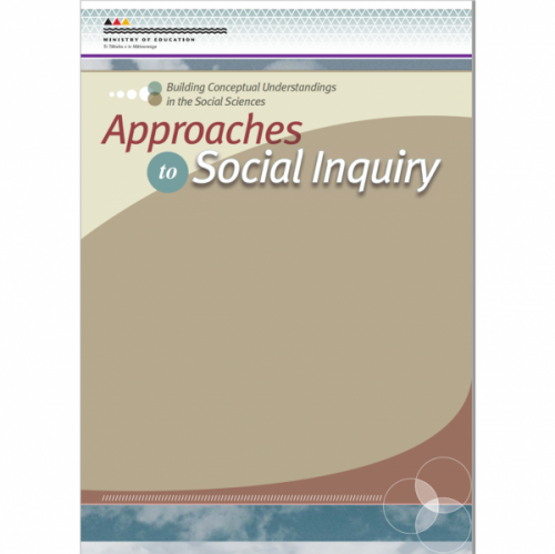 Approaches to Social Inquiry cover.